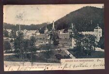 AUSTRIA PPC 1904 UNDIVIDED BACK...GRUSS AUS MARIENBAD