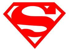 Superman Logo - 3M Scotchlite Reflective (Decal Sticker 680 Superhero car bike)
