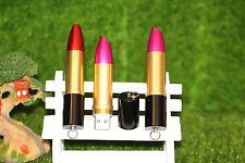 Belle 16gb nouveauté rouge à lèvres stylo/flash drive storage cadeau memory stick usb
