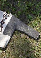 Ulfberth RM Kettenärmel Paar Vernietet Gestanzt 6mm Kettenrüstung Armschutz
