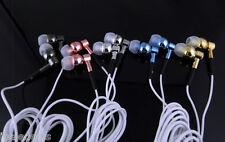 Ecouteurs intra auriculaires in ear avec Jack mâle de 3.5 - Différentes couleurs