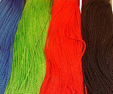 Twisted Stranded Cord PolyRope Line String Thread Yarn Polypropylene PP 1mm