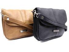 LADIES WOMENS NEW SOFT GENUINE LEATHER SMALL SHOULDER CROSSOVER BODY HANDBAG BAG
