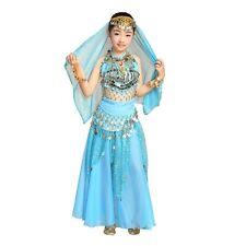 Girl KID Christmas Festival Costumes Belly Dance Costumes 5 pcs Skirt Set  S/M/L