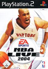 NBA LIVE 2004 ps2 playstation 2