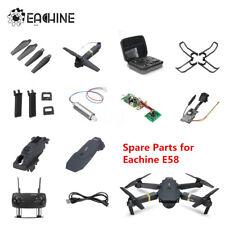 Eachine E58 RC Quadcopter Spare Parts Propeller/Axis Arms/Cover/Motor/USB/Camera