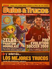 Guías completas Zelda Phantom Hourglass (NDS) PES 2008 (PS2 PSP PS3 XBOX 360 PC)