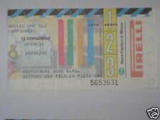 INTER - UDINESE BIGLIETTO TICKET 1997/98 SERIE A