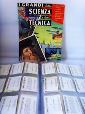 I GRANDI SCIENZA E TECNICA-DELL'ARTE 72-FIGURINA a scelta (1/177)-STICKER-Rec.