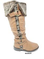 Shufetti BrownFur Top Boot