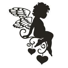 * 1 Sticker Petit Ange  * 4 tailles de 10cm à 25cm * 10 Couleurs