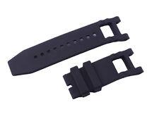 New Black Silicone Rubber  Watch Band Strap For Invicta Subaqua Noma III 6564