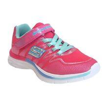Skechers Kids Girls Dream N dash 81131n Sneaker Neon Pink Aqua / Toddler