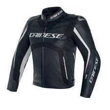DAINESE MISANO D-AIR noir / noir/blanc veste cuir moto toutes tailles