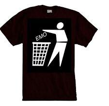 EMO THRASH-T-shirt Punk,emo,funny,anti flag.crust