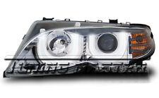 Fari Anteriori Angel Eyes 3D BMW Serie 3 E46 Berlina 01- 05 Cromati