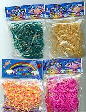 Loom Bänder Gummibänder Ersatzpackungen Neu