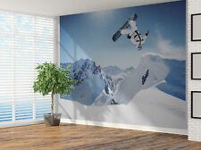 Papier peint sports extrêmes snowboard photo papier peint (9326482) snowboard