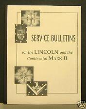 1956-57 Continental Mark II MK II Service Bulletins 191+ Pgs