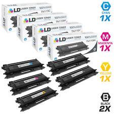 LD Remanufactured Brother TN115 5PK: 2 TN115BK/1 TN115C/1 TN115M/1 TN115Y
