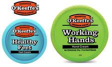 O'Keeffe's Working Hands Hand Foot Cream Cracked Split Skin Heel Non Greasy Tub