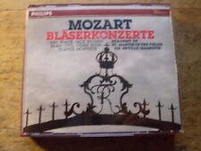 Mozart - Bläserkonzerte [3 CD Box] Philips Neville Marriner Jack Brymer Monteux