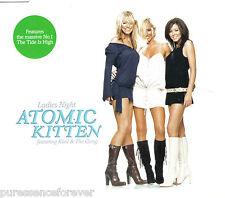 ATOMIC KITTEN - Ladies Night (ft KOOL & THE GANG) (UK 2 Trk CD Single Pt 1)