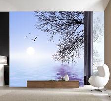 3D Lake Water Sun Wall Paper Murals Wall Print Decal Wall Deco AJ WALLPAPER