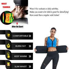 Womens Back Support Body shaper Waist Vest Gym Slimming Adjustable Belt  Sweat