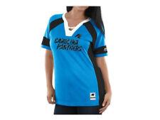 Carolina Panthers Women's Majestic NFL Draft Me Jersey Top Shirt $55 NWT