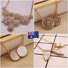 Designer Jewelry Woman Luxury Short Necklace - Double side Shell & Flower JN113