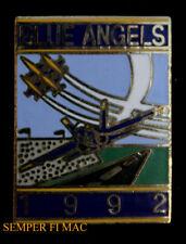 US NAVY BLUE ANGELS 1992 HAT PIN USS NAS MOFFETT FIELD