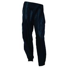 Oxford Rainseal Motorcycle Waterproof All Weather Over Trousers Motorbike BlackT