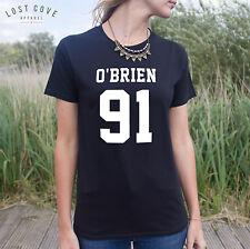 * O 'Brien 91 T-shirt Top Fashion Film fangirl Fresco Regalo HOT Teen Boy *