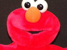Fisher-Price Sesame Street Workshop Elmo Red Monster Plush Stuffed Animal Puppet