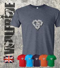 Cadena de bicicleta de ciclismo camiseta impresión del corazón, Ciclismo De Amor-Comprar los Tee