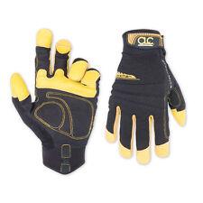 CLC FlexGrip WorkMan Leather Spandex Work Gloves Best for Construction # 133