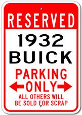1932 32 BUICK Parking Sign