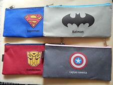 Superman Transformers Batman Captain America Pencil Case