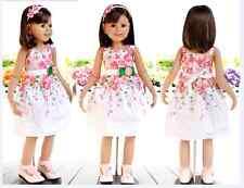 Niño CHICAS de verano Elegante Vestido Floral Fresa colorido Pieza size1-6year