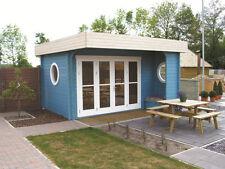 Gartenhaus Subliem, 520 x 520 cm, Luxus Ausführung, Haus mit Flachdach