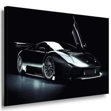 Lamborghini Sport 90er Leinwandbild / LaraArt Bilder / Mehrfarbig + Kunstdruck