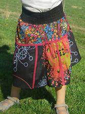 Vetement Ethnique Enfant - Jupe Coton Imprimé