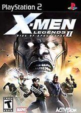 X-Men Legends II: Rise of Apocalypse (Sony PlayStation 2, 2005)