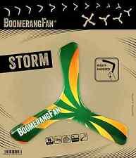 Boomerang Fan Storm, kleiner, leichter Holz Bumerang für Einsteiger