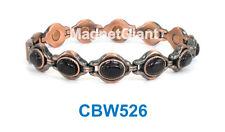 Onyx Gemstone Women Copper link high power magnetic bracelet CBW526