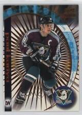 1998-99 Pacific Paramount Ice Galaxy #1 Paul Kariya Hockey Card