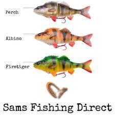 Savage Gear 4D Line Thru Perch 17cm / 23cm Pike Fishing Lure *NEW 2018*