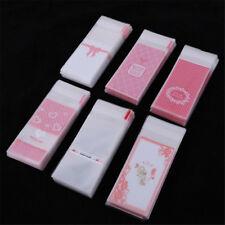 100Pcs Mini plastic cookie packaging cupcake wrapper bag opp self adhesive bagPI
