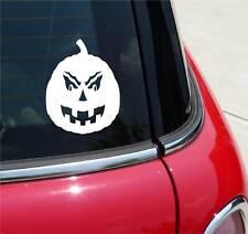 PUMPKIN HALLOWEEN FALL GRAPHIC DECAL STICKER ART CAR WALL DECOR